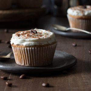 Vanilla Latte Cupcakes (Low carb, keto)
