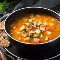 This delicious recipe for Manhattan Clam Chowder is actually low carb and high in flavor!