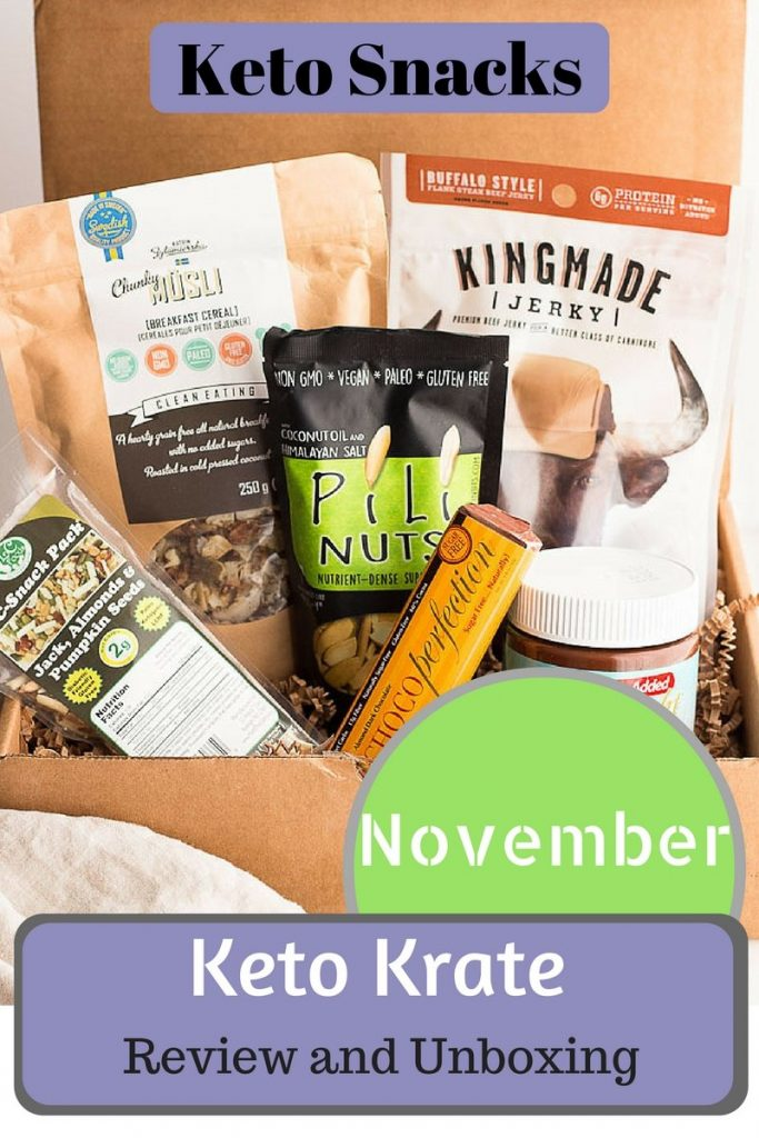 Keto Krate- Great low carb snacks and keto snacks for LCHF diet.