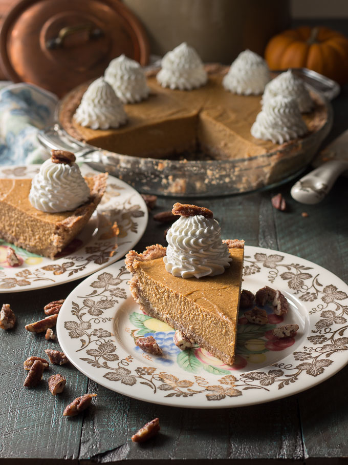 An easy sugar-free and low carb pumpkin pie recipe that is no-bake because it cooks on the stove!