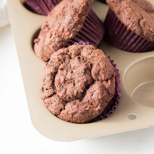 Keto Chocolate Cranberry Relish Muffins Recipe