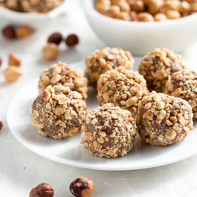 Easiest Low Carb Keto Hazelnut Truffles | Low Carb Maven