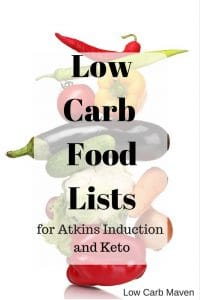 Low Carb Food List (Induction, Keto)
