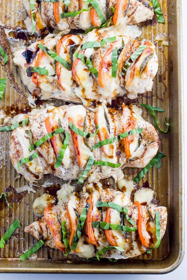 Caprese Hasselback Chicken Low Carb Maven