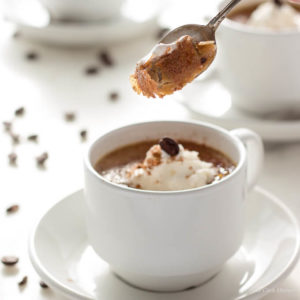 Sugar Free Coffee Creme Brulee is a silky, creamy low carb dessert. keto