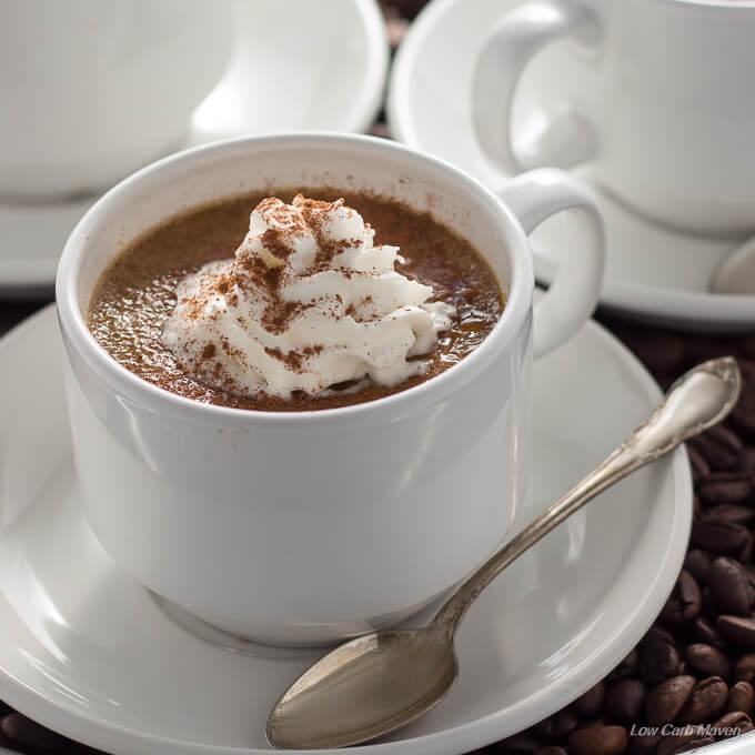 Sugar Free Coffee Creme Brulee Low Carb Keto Low Carb