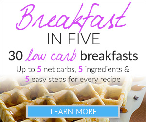 TryLowCarb.com Breakfast in Five