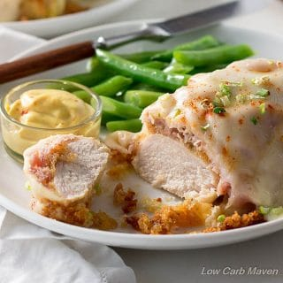 Into easy chicken recipes? This Malibu Chicken is a great low carb and keto chicken recipe with awesome flavor.