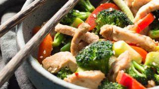 Easy Pork Stir Fry Recipe With Vegetables (low carb)