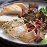 Healthy Low Carb Chicken Recipe with mushrooms is super easy!