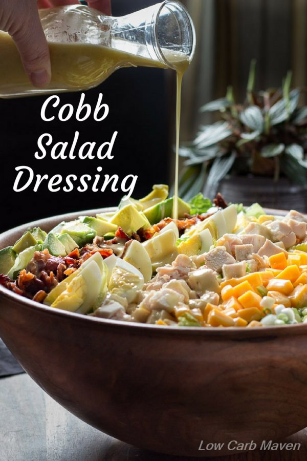 Try this Cobb Salad dressing recipe on your favorite healthy salad recipes.
