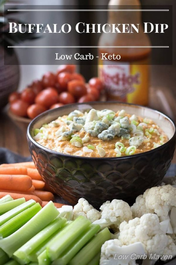 Easy Low Carb Buffalo Chicken Dip