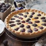 Blackberry Custard Pie - Buttermilk Custard Pie Recipe (Sugar-free, Low Carb)