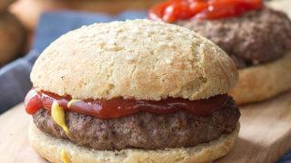 Low Carb Hamburger Buns (Keto Sandwich Rolls)