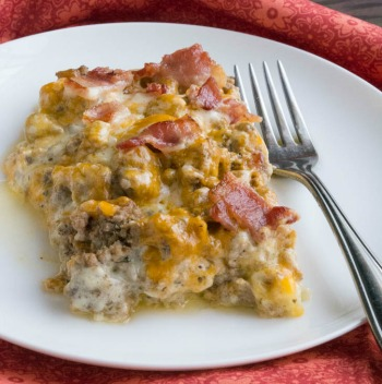 Cheeseburger Cauliflower Casserole | Low Carb Ground Beef Recipe