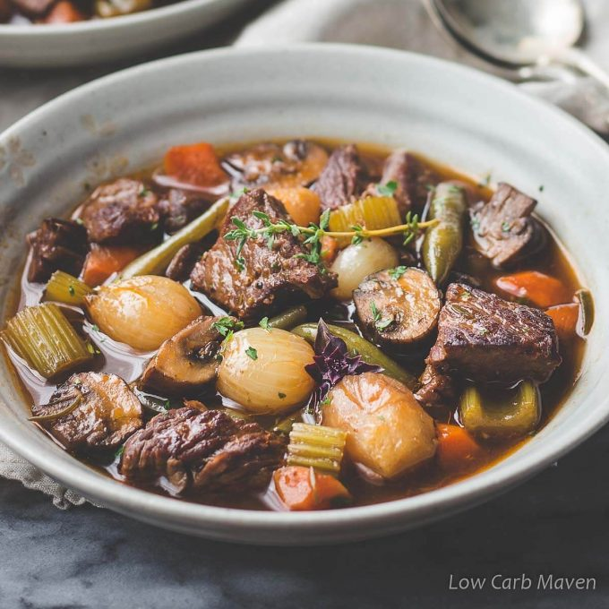 Amazing Keto Beef Stew Low Carb Maven
