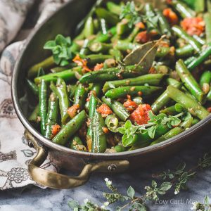 Easy Mexican Green Beans Recipe