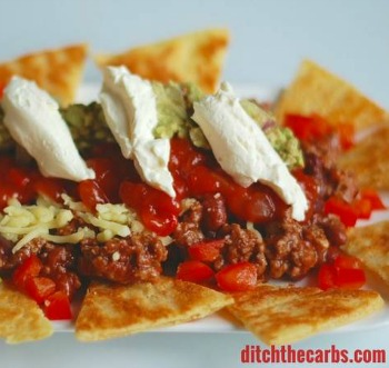 Fat Head Nachos | Low Carb Ground Beef Recipes