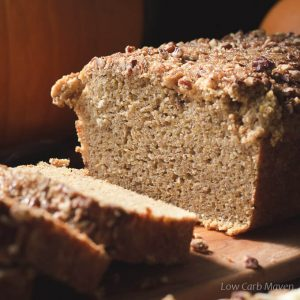 Gluten Free Pumpkin Bread Recipe (low carb)