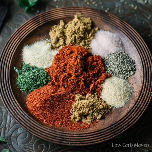 Low Carb Taco Seasoning Recipe Keto Gluten Free Low Carb Maven