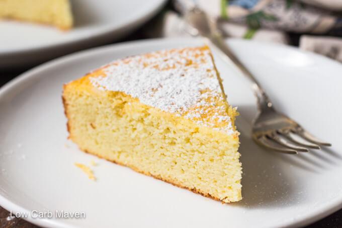 Lemon Ricotta Cake Keto Lemon Cake Low Carb Maven