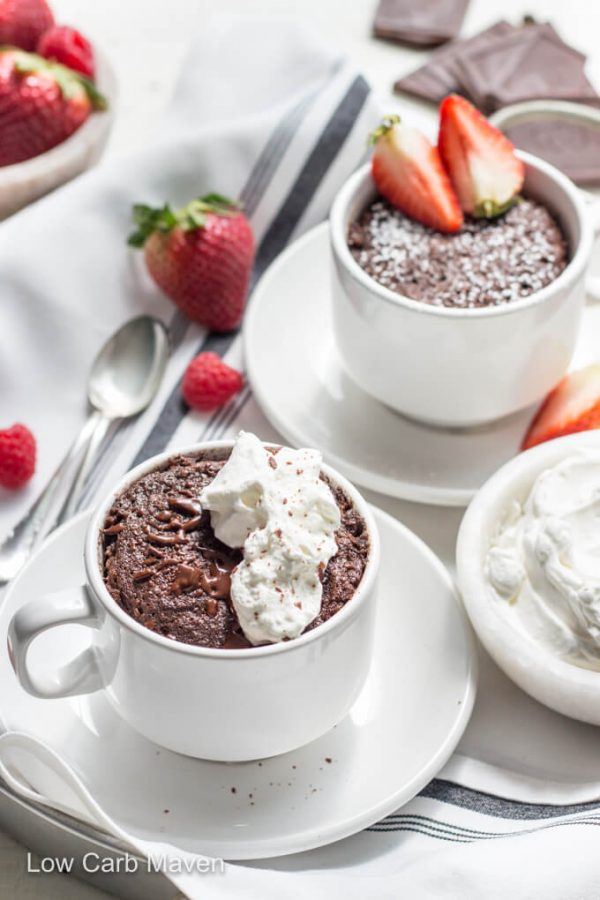 Keto Chocolate Mug Cake Moist And Delicious Low Carb Maven
