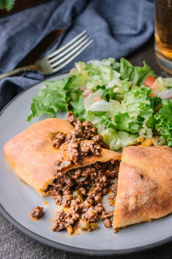 Homemade Sloppy Joe Hot Pockets! #sloppyjoes #hotpockets #handpies #lowcarb #keto #fathead #fatheaddough #mozzarelladough #ketopizza #groundbeef