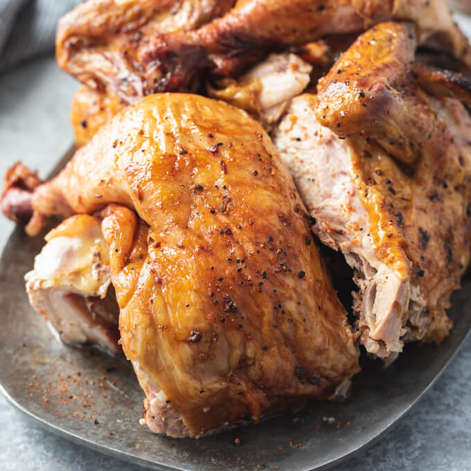 Smoked Beer Can Chicken With Dry Rub Low Carb Maven