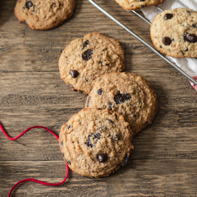 Favorite Keto Chocolate Chip Cookies (low carb)