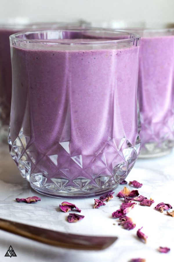 Low carb berry smoothie