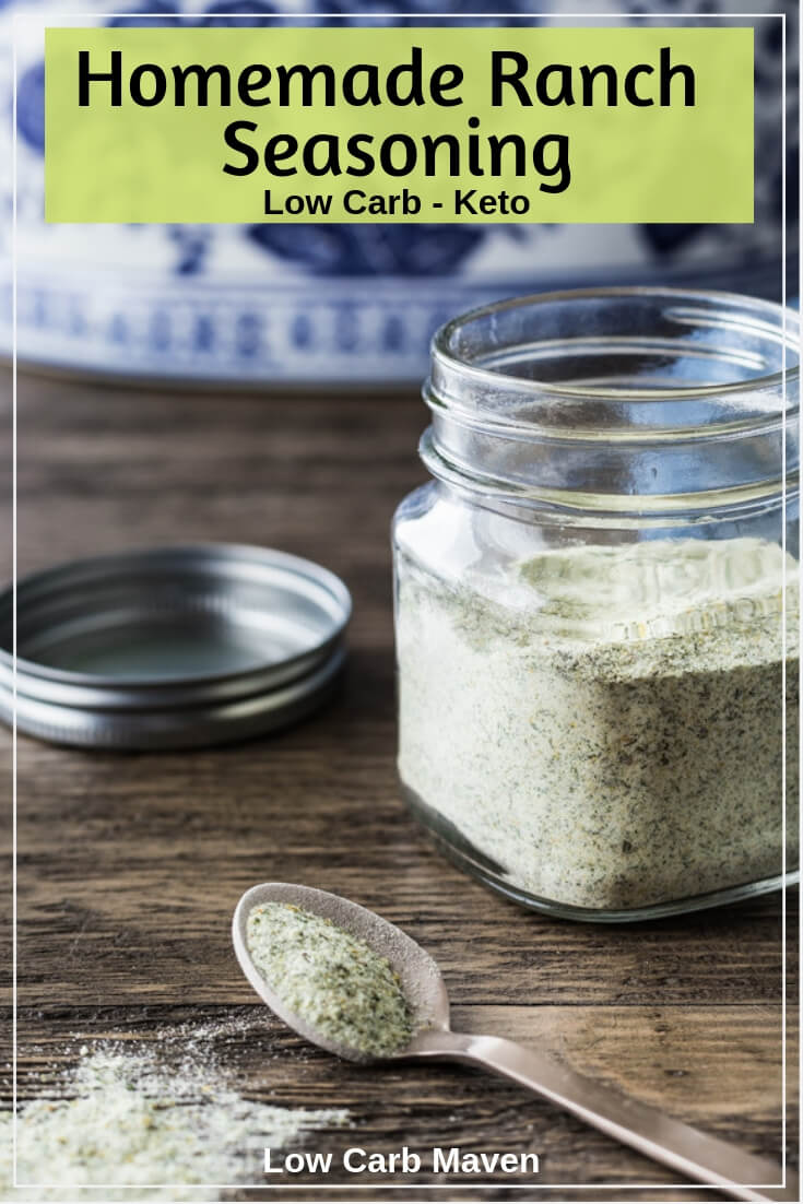 Homemade Ranch Seasoning Mix (keto, low carb)