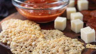 Parmesan Crisps - Keto Cheese Chips