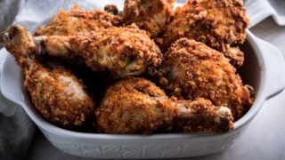 Keto Fried Chicken Recipe Baked in Oven