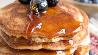 Coconut Flour Pancakes (Low Carb, Gluten Free)