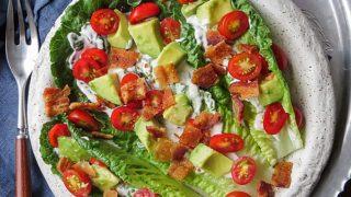 BLT Salad with Avocado (Low Carb, Paleo)