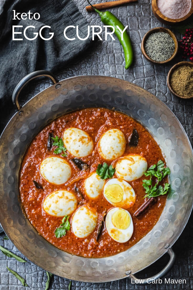 Egg Masala (Keto Egg Curry Recipe)