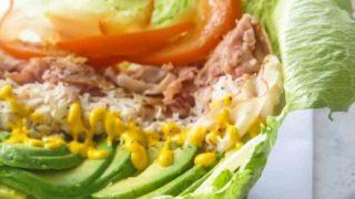 Homemade Unwich – Lettuce Wrap Sandwich [Recipe]