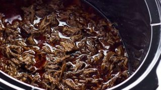 Chipotle Beef Barbacoa Recipe Copycat in a Slow Cooker (Crock Pot)