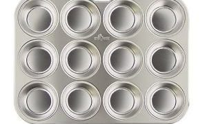 Muffin Pan, Stainless Steel