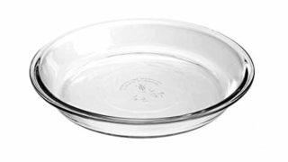 """Pie Plate Glass, 9"""""""