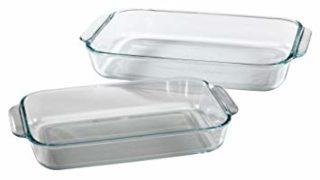 Pyrex Glass Baking Dishes - 2 Piece: 2 Quart, 3 Quart