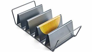 6-Shell Baked Taco Rack, 15-Inch-by-7-Inch
