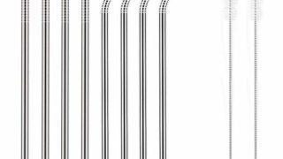 Reusable Stainless Steel Metal Straws