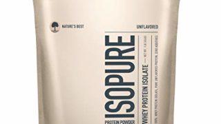 Isopure Zero Carb, Keto Friendly Protein Powder, 100% Whey Protein Isolate, Unflavored