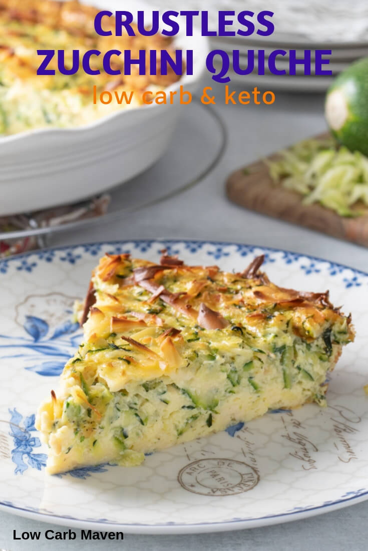 Keto Crustless Zucchini Quiche Recipe