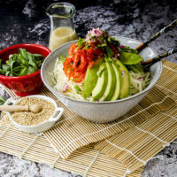 Low Carb Keto Asian Cabbage Salad Recipe