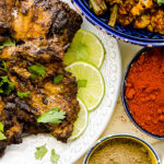 low carb grilled tandoori chicken