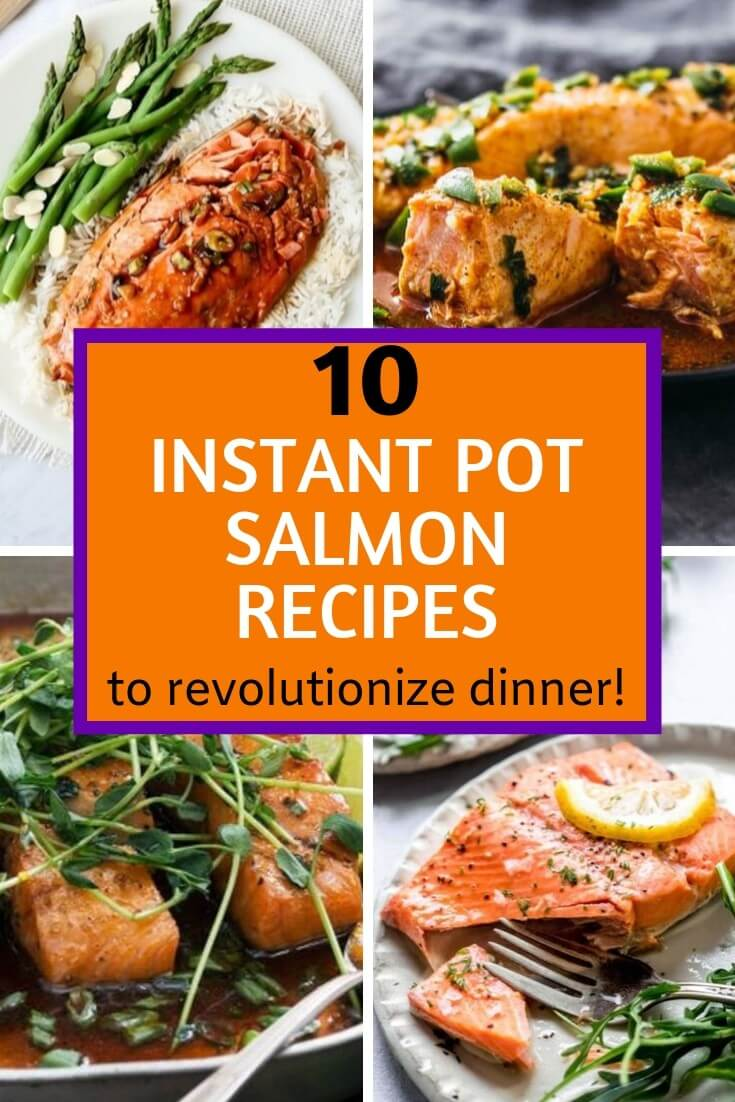 These Instant Pot Salmon Recipes will revolutionize dinnertime! Cook tender flaky salmon in minutes, fresh or frozen, in your electric pressure cooker for an easy weeknight meal. Low carb keto options!