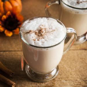 Sugar Free Pumpkin Spice Chai Latte