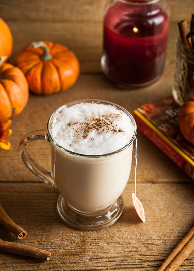 Sugar Free Pumpkin Spice Chai Latte Low Carb Maven